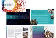 Graphic Design Portfolio / Graphic design samples from Kiwi Creative.