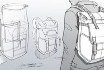 Backpack sketches