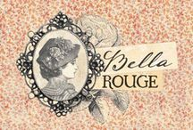 Bella Rouge Collection / Gorgeous floral imagery and a luscious color palette (that will simply take your breath away) combined with creamy yellow, deep rose red, olive green, and fresh sea-blue that will take your imagination and creativity to new heights! A fun, BEAUTIFUL and timeless collection filled with fond memories of old...Bella Rouge! / by Prima Marketing