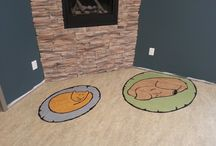 Peterborough West Animal Hospital / Custom flooring inlay