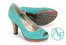 Peep Toe #shoetrend / The peep toe heel, wedge, and sandal are in for casuals and dress. Let those feet breathe! / by Addington Falls