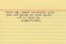 words / by Sandy Kotwica