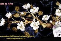 Flores porcelana (fórmula propia) resistente a golpes.