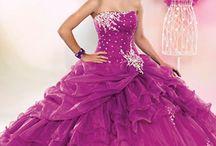 Dresses for my quincenera / by Isabella Villalobos