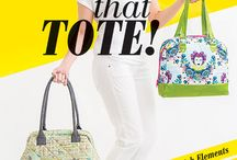 Hack That Tote! / Projects and ideas from my book Hack That Tote! (Stash Books, an imprint of C&T Publishing)