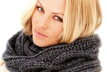 snood tricot femme
