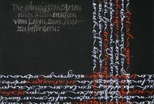 calligraphie artistique