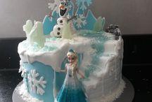 """Meine Frozen Torte """"Die Eiskönigin"""" / Motivtorte Eiskönigin"""