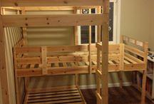 camas dobles y triples ( niños )