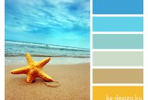 Color inspiration / Color palettes and images with pretty color combinations.