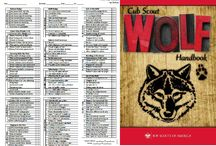 Cub Scouts: Wolf / by Misty @Creative Itch