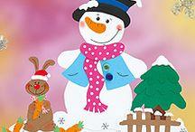 dekoracje zimowe