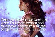 Ariana grande fakta