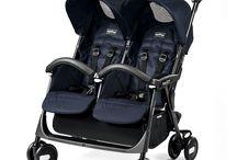 Peg Perego Aria Shopper / La Peg Perego Aria Shopper Twin está dedicada a los hermanitos gemelos y mellizos o a los hermanitos de próxima edad , de 6 a 36 meses. Ágil y maniobrable, con su cesta de gran capacidad, es la más ligera de la gama de sillas de paseo para mellizos. Descúbrela en: http://decoinfant.com/producto-etiqueta/peg-perego-aria-shopper-twin/