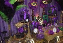 Mardi Gras Theme / Birthday Party