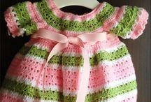 roupas croche menina