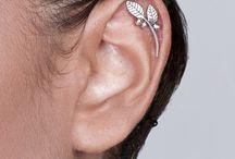 orecchini e anelli