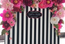stripe wedding
