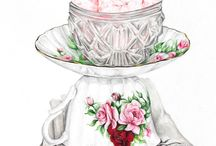 Shabby chic/in pink