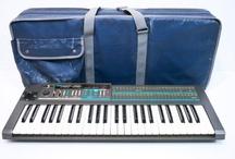 Korg vintage synthesizers