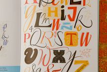 Typography / All things type, freehand calligraphy to modern typography