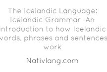 Learn Icelandic / Icelandic language learning