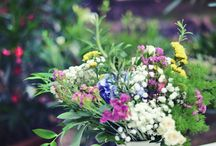 Boho Wedding Decorations / My sister's bohemian garden wedding