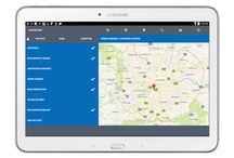 Flobot Field app on a tablet