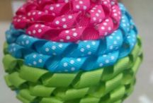 Ribbon Ideas / Amazingly talented crafters !