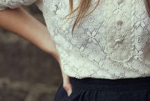 Fashion with lace