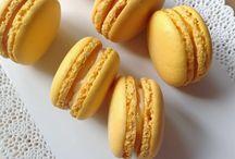 macarons a jiné mňam