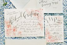 invitations, wedding and other