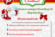 #SantasShoppingBoard / by HomeShop18