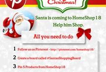 #SantasShoppingBoard / by HomeShop18