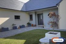 Confort intérieur et extérieur d'une maison Trecobat / Voici une maison réalisée par les maisons Trecobat.
