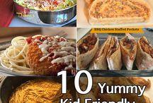 Kid friendly dinners