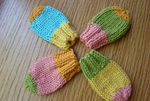 Luvas tricot