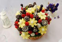 fruttaria / Фрукты,фруктовые букеты,фруктовые конфеты