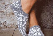 bačkory, ponožky
