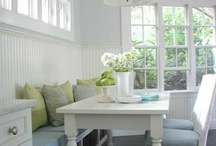 A Little Nook / For more decorating ideas stop by: http://www.decorating-ideas-made-easy.com / by Jennifer Decorates