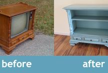 upcycling / Recycling old stuff into new