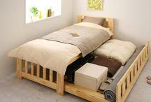ベッド手作り