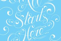Typography Designs / by Pearl Spiller