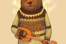 animal musicans