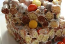 Cereal treats / by Tracey Terrell