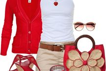 My style - red