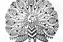 Indian woodblock
