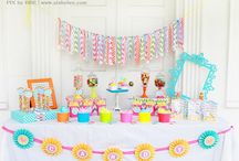 Cute Party Ideas - decorations, themes, food