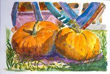 My Watercolor Paintings - Mes Aquarelles