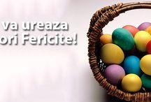 Ninio.ro va ureaza Paste Fericit! / Ninio - site de produse mari pentru copii mici!